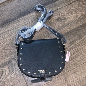 Victoria's Secret studded crossbody bag purse